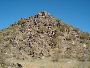 La munte iarna in Phoenix, Arizona